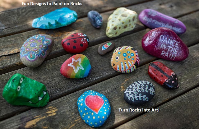 Rock painting ideas and kits for kids to create stunning and fun rocks arts and crafts