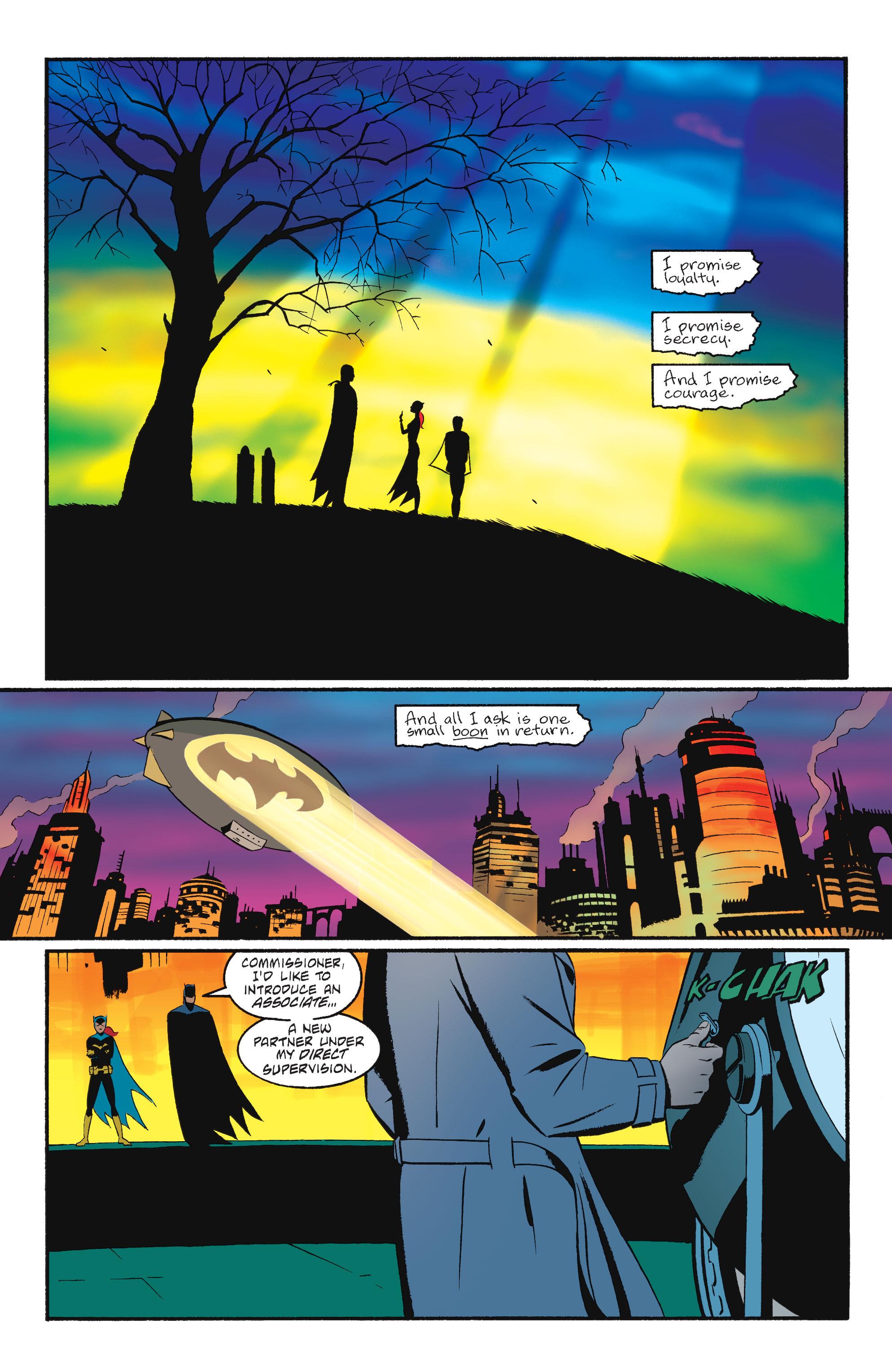 Read online Batgirl/Robin: Year One comic -  Issue # TPB 2 - 195