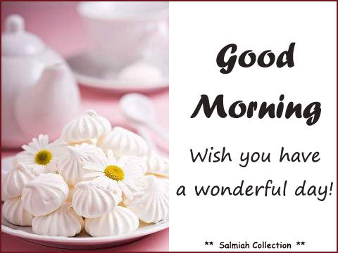 Wish you have a wonderful day