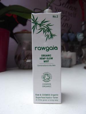 rawgaia organická konopná hmla