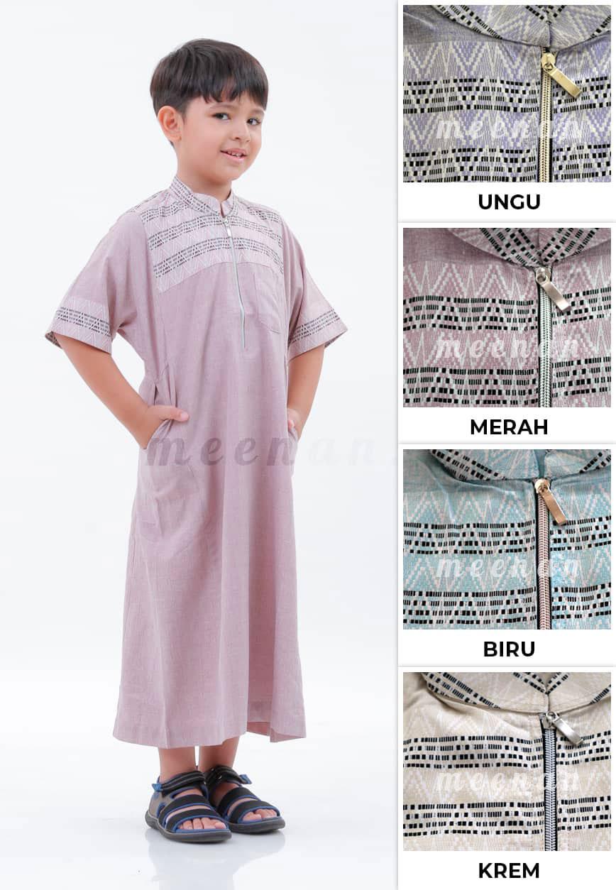 Gamis Naufal Anak, gamis, baju koko anak, koko anak, baju lebaran, baju anak, baju lebaran anak.