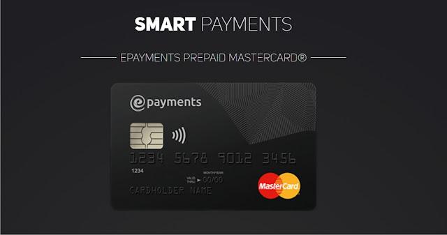 Tutorial Cara Mudah Mendapatkan Kartu Master Card Gratis Melalu Situs E-Payments