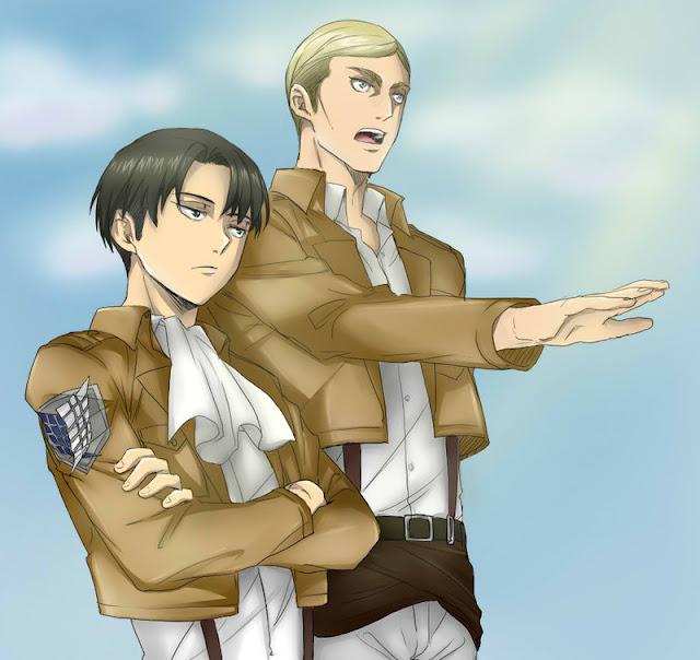 Erwin es el personaje más popular de Shingeki no Kyojin según una encuesta
