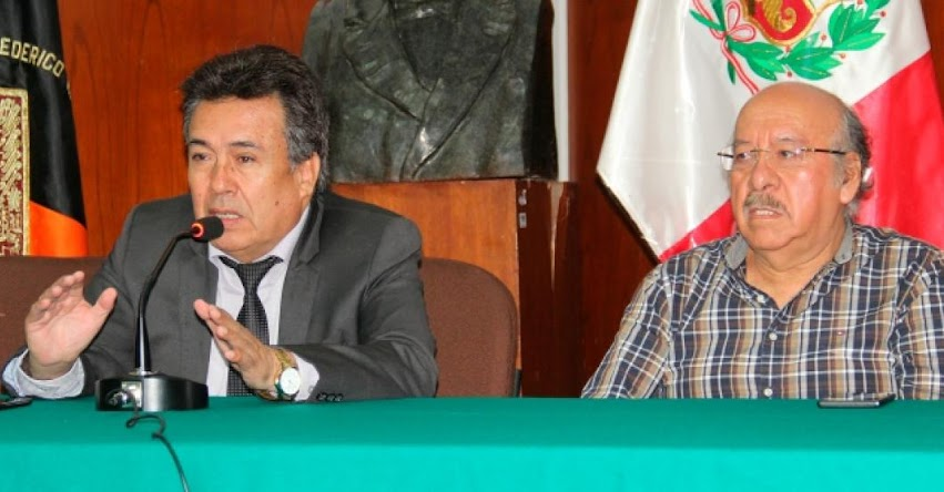 UNFV: Rector desmiente posible denegación de licenciamiento institucional a la Universidad Villarreal - www.unfv.edu.pe