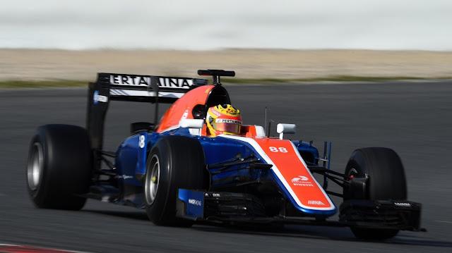 FI GP Spanyol Pekan Ke-5, Rio Haryanto Finis Diurutan Ke-17