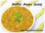 Butter Beans Gravy