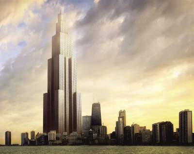 Future's Tallest Building sky city