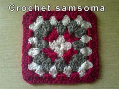 فيديو لطريقة عمل مربع الجراني بلون واحد  . كروشيه مربع الجراني . Granny Square Crochet. طريقة عمل مربع من الكروشيه - بالفيديو ; كروشيه مربع الجراني بلونين ..طريقة عمل مربع الكروشيه البسيط بلون واحد .