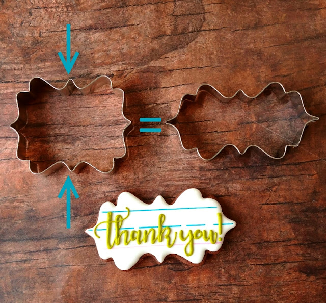 How to re shape a cookie cutter