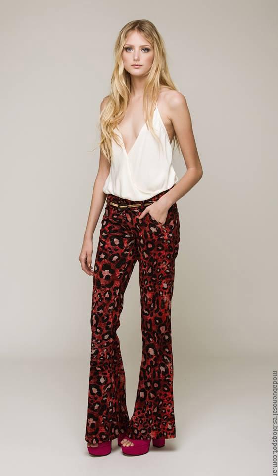 Moda primavera verano 2017 ropa de mujer Silvina Ledesma.