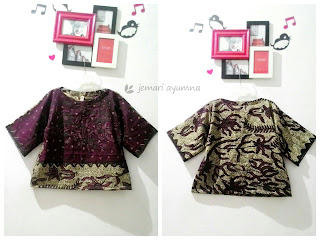 Membuat Kimono Sleeve Top Batik Simple