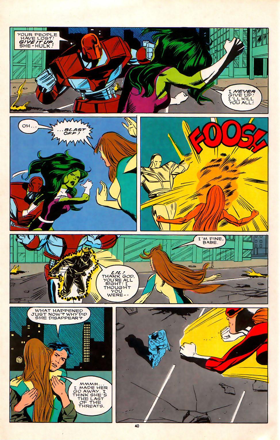 Read online Alpha Flight (1983) comic -  Issue #75 - 35