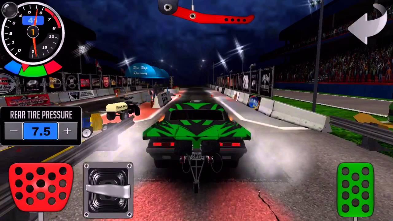 تحميل لعبة Door Slammers 2 Drag Racing مهكرة نقود لا نهاية