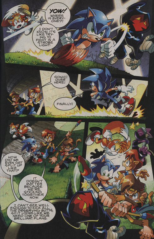 Read online Sonic The Hedgehog comic -  Issue #208 - 11