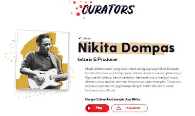 Mengenal Nikita Dompas, Kurator Jazz Go Ahead People