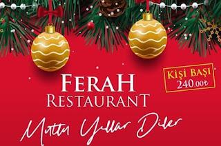 ferah restaurant kusadasi yilbasi programi