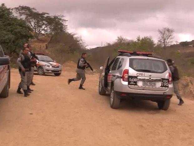 Bandidos que explodiram agência bancária no Sertão da Paraíba  são mortos