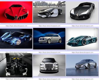 Desain Mobil Konsep Masa Depan Yang Paling Keren Di Dunia