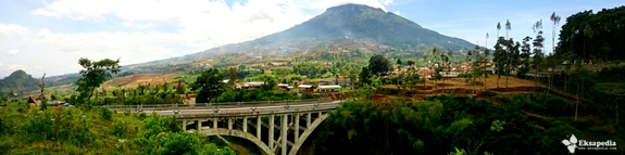 Keindahan Jembatan Sigandul | Gunung Sumbing