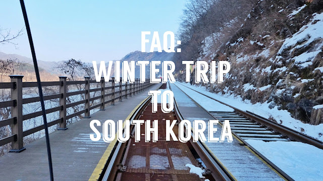 winter trip to south korea