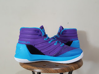 Under Armour Curry 3 Purple  Premium, toko sepatu basket , jual sepatu basket, harga basket under armour, under armour curry , curry 3