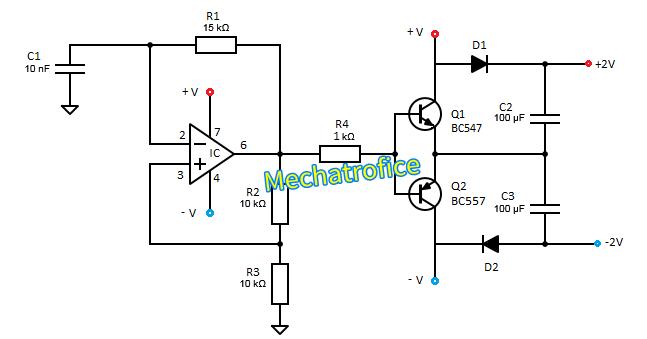 active voltage doubler