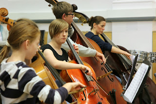 Opera North Orchestra Camp. (Photo Opera North)