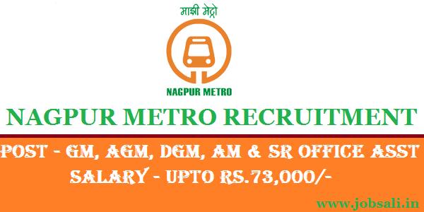 Metro Jobs, Metro Railway Jobs in Maharashtra, Govt Jobs in Nagpur
