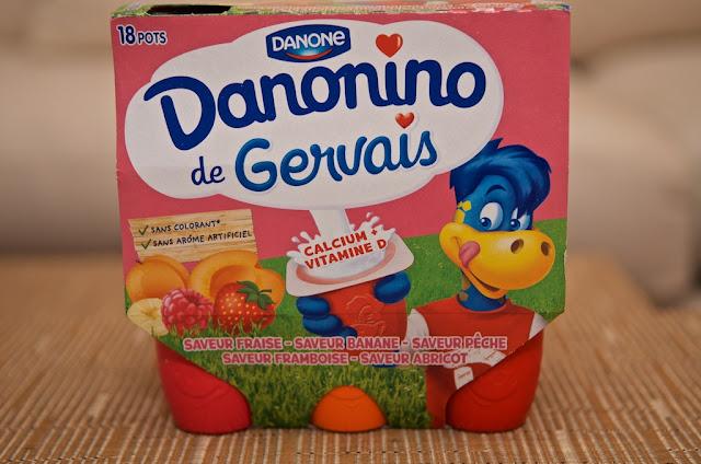 Gervais Fruits - Danonino - Petits Gervais - Fromages Blancs sucrés - Danone