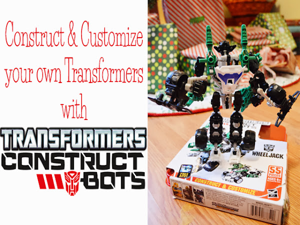 Construct & Customize Your Own Transformers with #ConstructBots {A Holiday Gift Guide Review #sponsored}