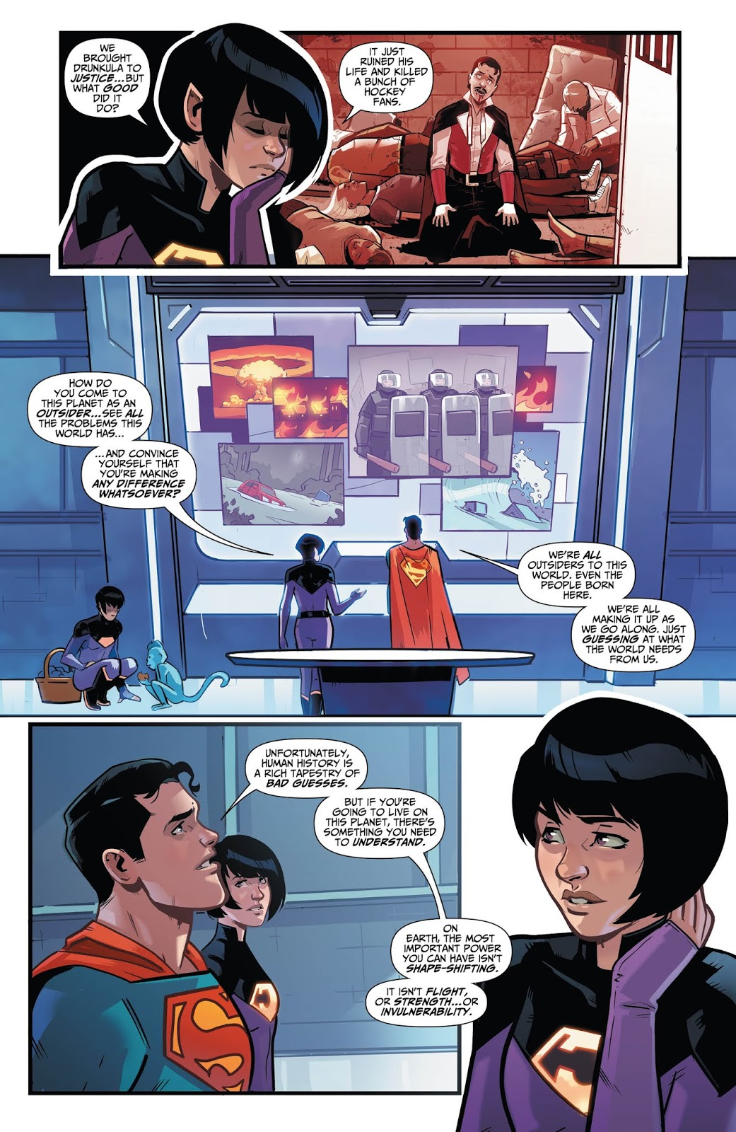 WONDER TWINS #3 Page 3.
