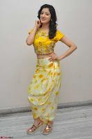 Richa Panai in Yellow Slim Fit Crop top ~ CelebxNext 016.JPG