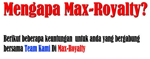 max royalty