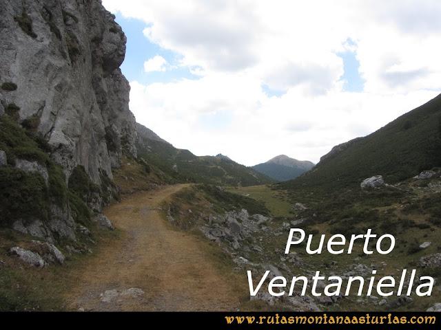 Ruta Ventaniella, Ten y Pileñes: Puerto de Ventaniella