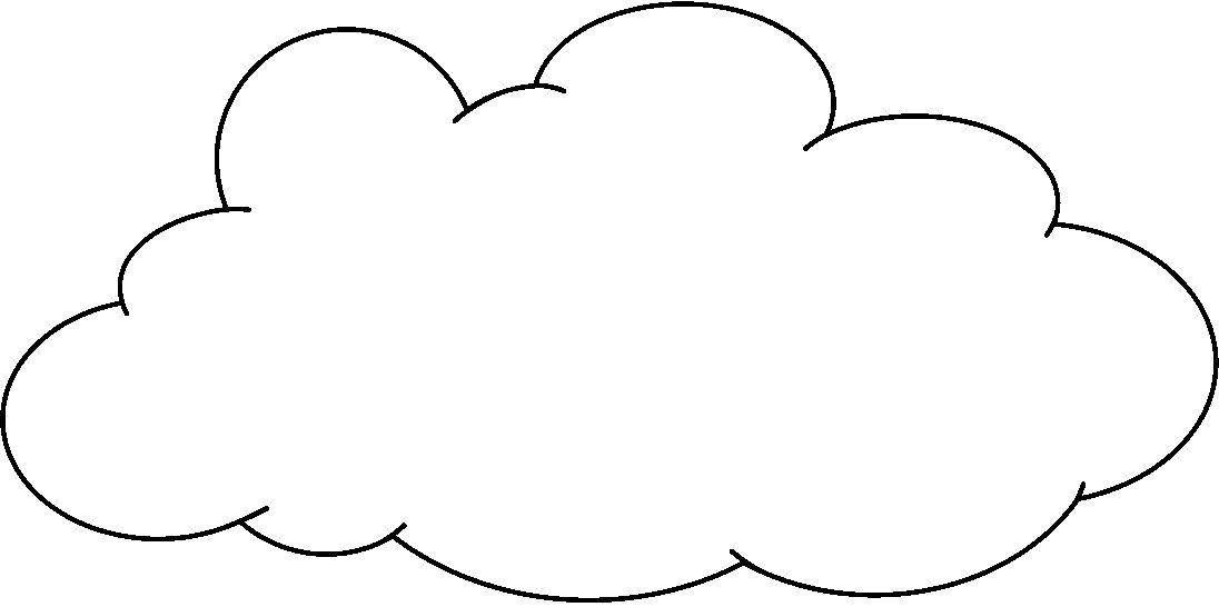 Imagenes De Nubes Para Colorear