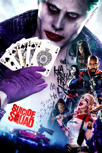 Poster of Suicide Squad 2016 Extended 720p-English-BluRay With Hindi-PGS-Subtitles