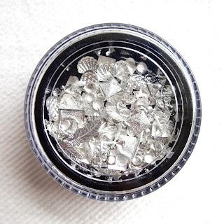 Silver Nail Charms