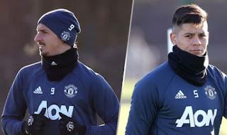 Manchester United vs Liverpool: Ibrahimovic dan Rojo Siap Tempur