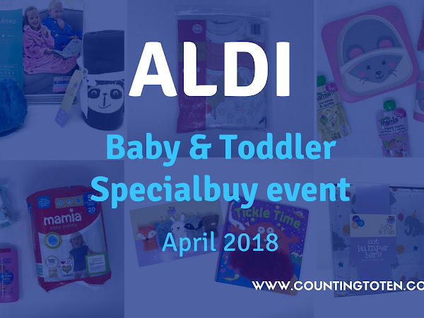 Aldi Baby & Toddler Specialbuy Event April 2018