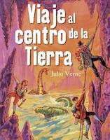 """Portada del libro """"Viaje al centro de la tierra"""", de Julio Verne"""