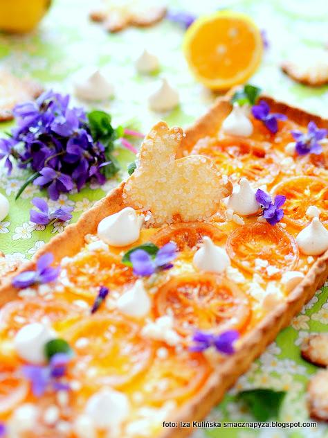 kruche ciasto cytrynowe, krem cytrynowy, cytryna, slodko kwasny, wielkanoc, mazurki, najlepszy