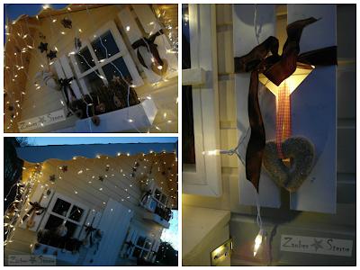 Weihnachtsdekoration, Knusperhaus, Weihnachtshaus