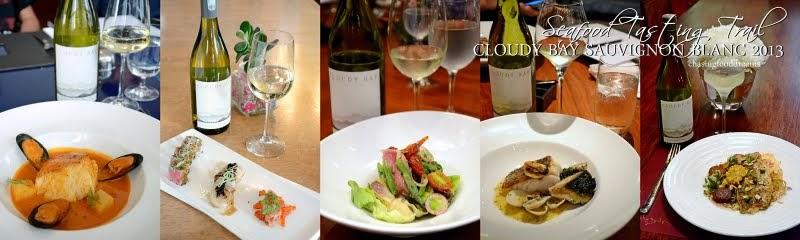 Chasing Food Dreams Cloudy Bay Sauvignon Blanc Seafood