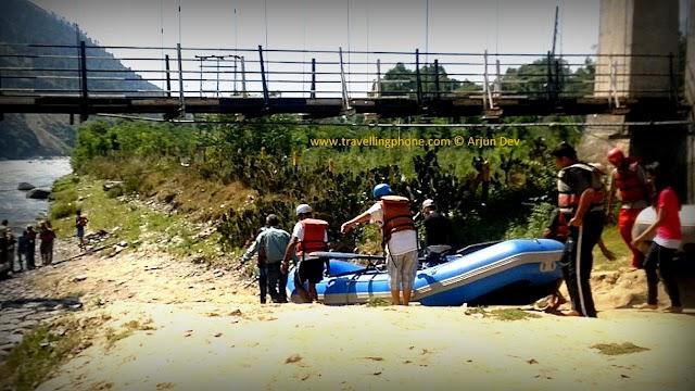 White Water Rafting Kullu