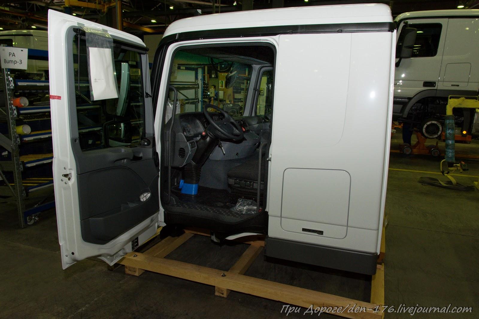 How to make MBTV 34 Mercedes Benz trucks in Naberezhnye Chelny