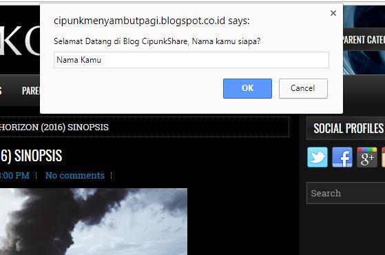 cara membuat salam pembuka blog keren paling mudah