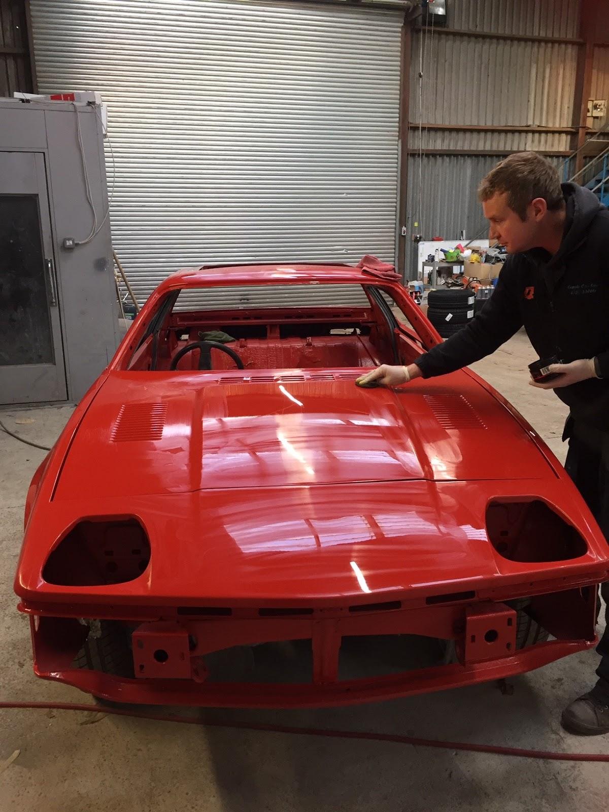 John's Triumph TR7 Restoration: 2018