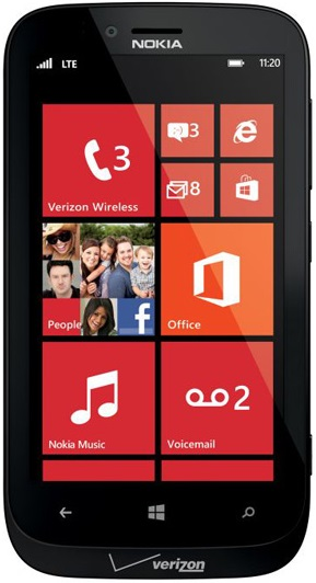 Nokia Lumia 822 for Verizon