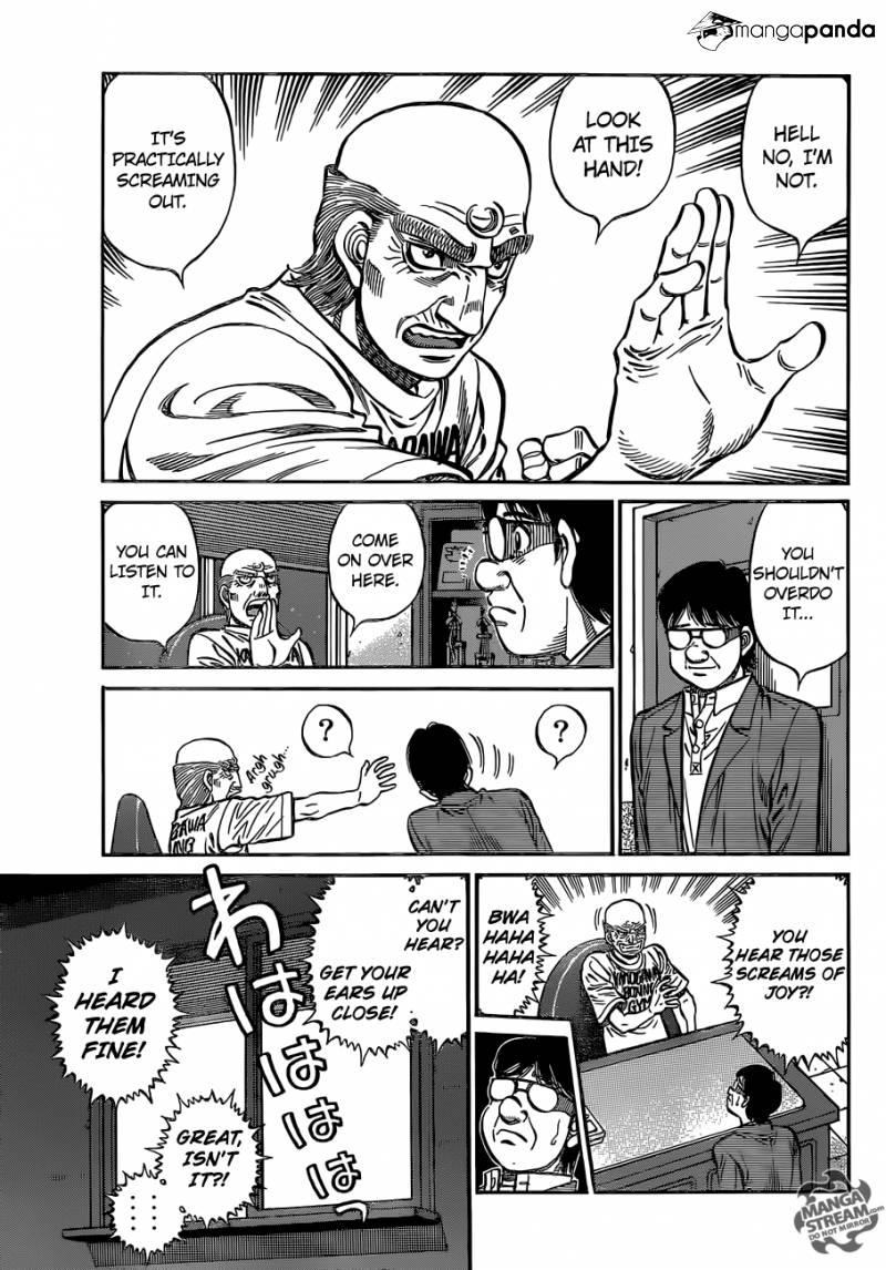 Hajime no Ippo - Chapter 1150