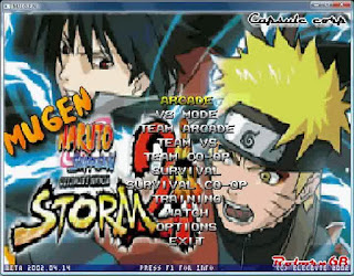 naruto ninja storm 3 mugen pc